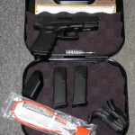 Preowned Glock 19 Gen-4, 9mm, 4″ BBL, 15 Rounds, Like Brand New: $479