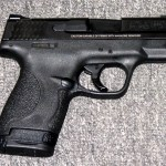 Preowned Smith & Wesson M&P Shield, 9mm, 7&8 Rounds, 3.1″ BBL, No External safety: $299