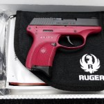Preowned Ruger LC9-R, 9mm, 7 Rounds, External Safety, Raspberry: $329