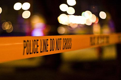 crime tape photo