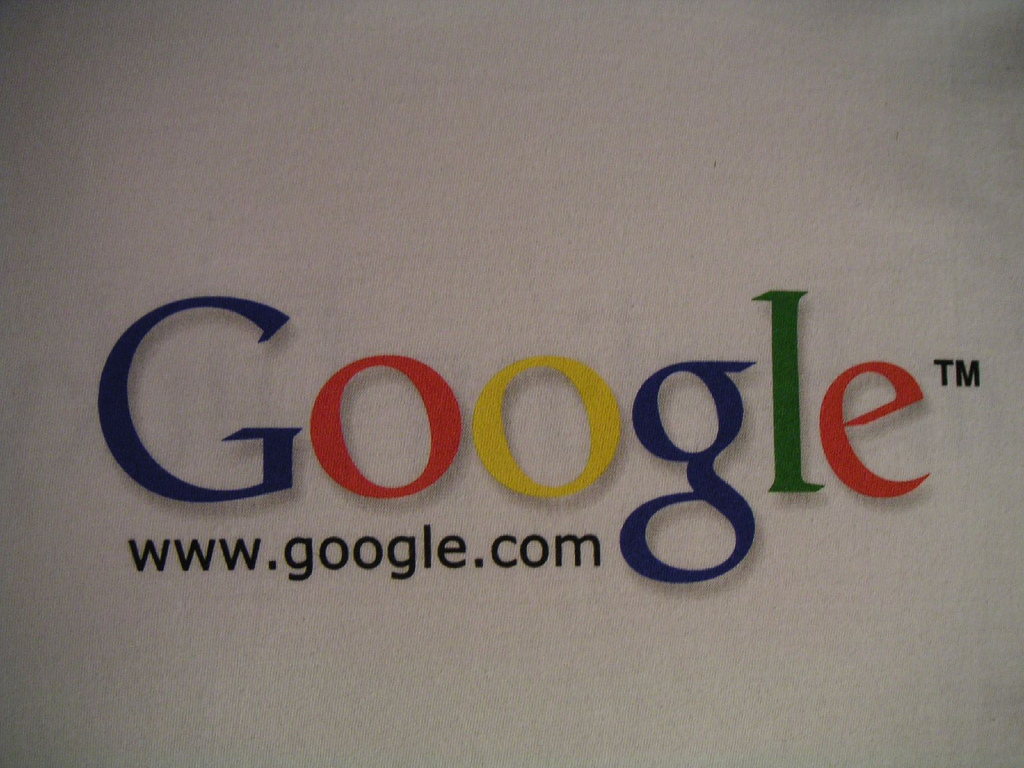 Google logo photo