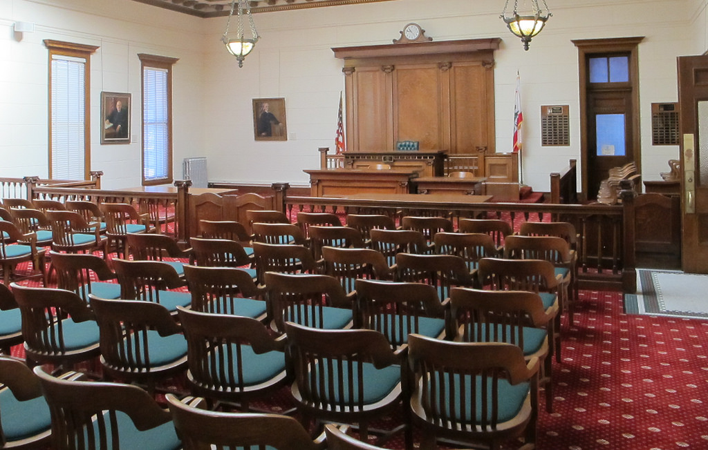 court room photo