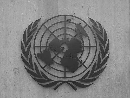 United Nations logo photo