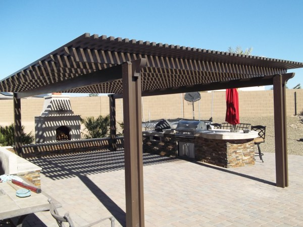 lattice patio covers designs Traditional Meets Contemporary - Liberty Home Products