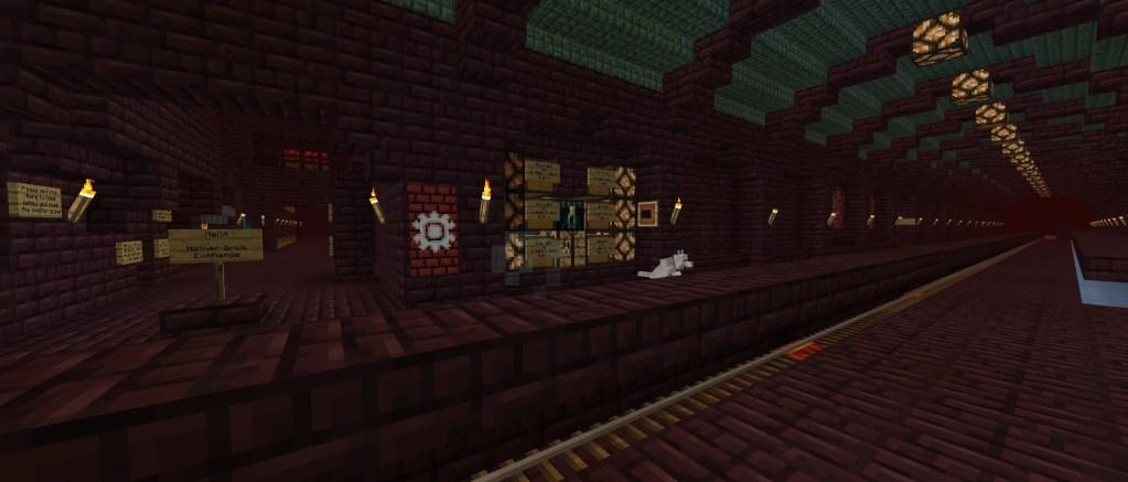 Origo Station & The Netherway – Liberty Minecraft