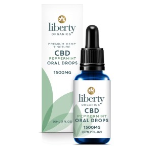 CBD Peppermint Oral Drops Tincture