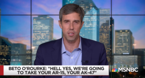 Beto's Threat on Guns Reportedly Blows Doors off of AZ Gun Store