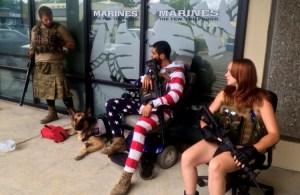 Patriots defending Military Recruitment Centers