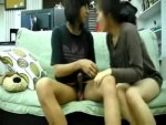 Cute Korean University Couple Fucking in the Dorm