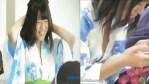 Sumilip palabas ang Cute Nipple sa suot na Yukata