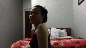 Sexy hot model dinala sa motel