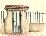 estartit-street-sketch