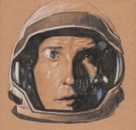 dessin de matthew mcconaughey dans le film interstellar