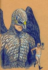 le héros Birdman et michael keaton