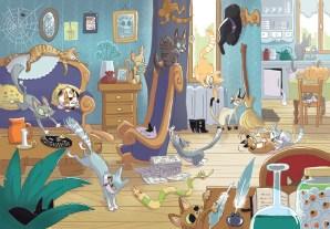 Jeu : Combien de chats ?