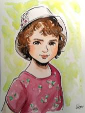 portrait-fille-aquarelle-commande