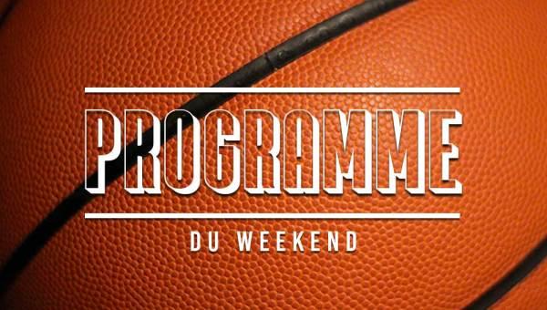 programme du weekend des équipes de libourne basket