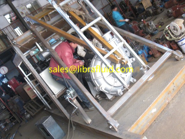Libra slurry pump with diesel engine for Indonesia client