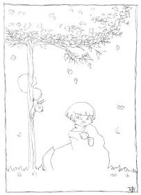fillette-automne
