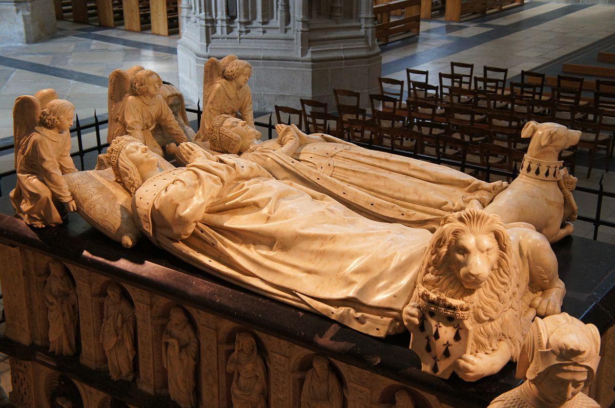 Conférence de Sophie de Gourcy : Le Tombeau de François II et Marguerite de Foix