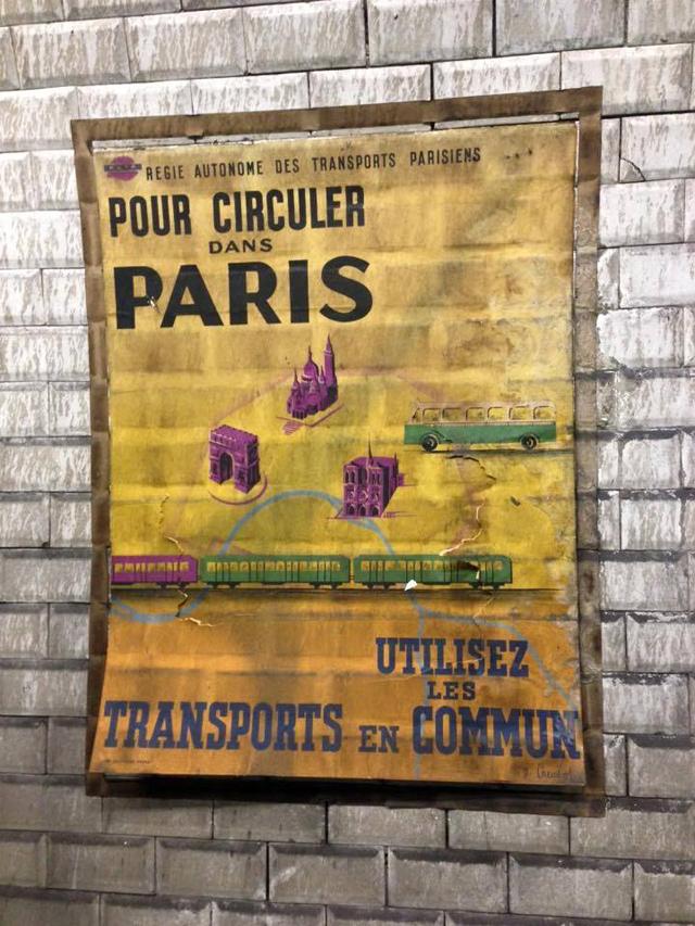 affiche-annee-50-metro-paris-1