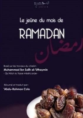le jeune du mois de ramadan