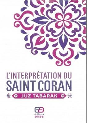 interprétation de juz tabarak