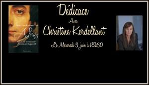 Dédicace Christine Kerdellant