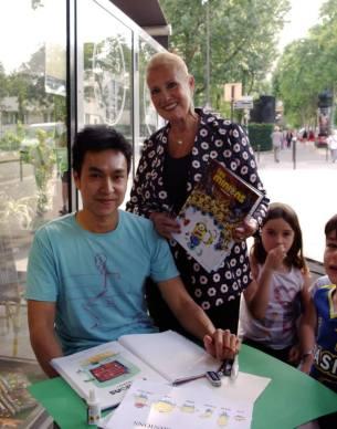 Didier Ah-Koon et Nicole Maruani