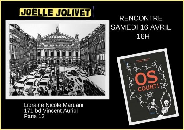 Rencontre Joelle Jolivet