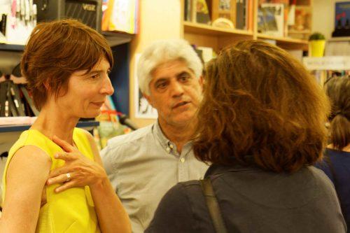 De jolies discussions avec Lucile Bordes
