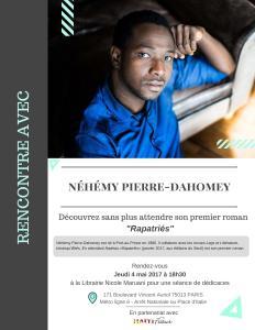 dédicace nehemy pierre-dahomey