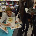 catherine kluger signe son livre de recettes super nature