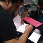 alain layrac signe son livre