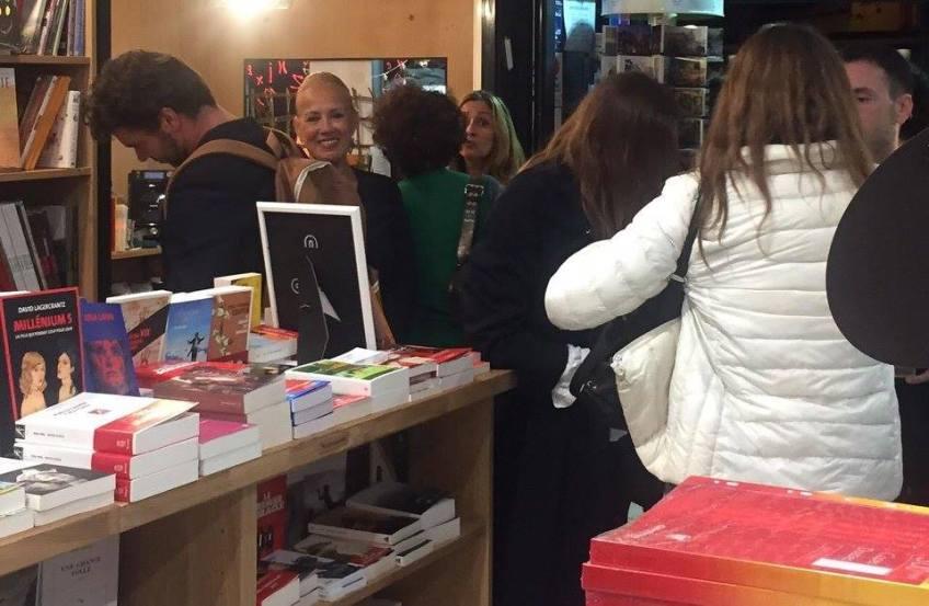 alain layrac en dédicace à la librairie maruani