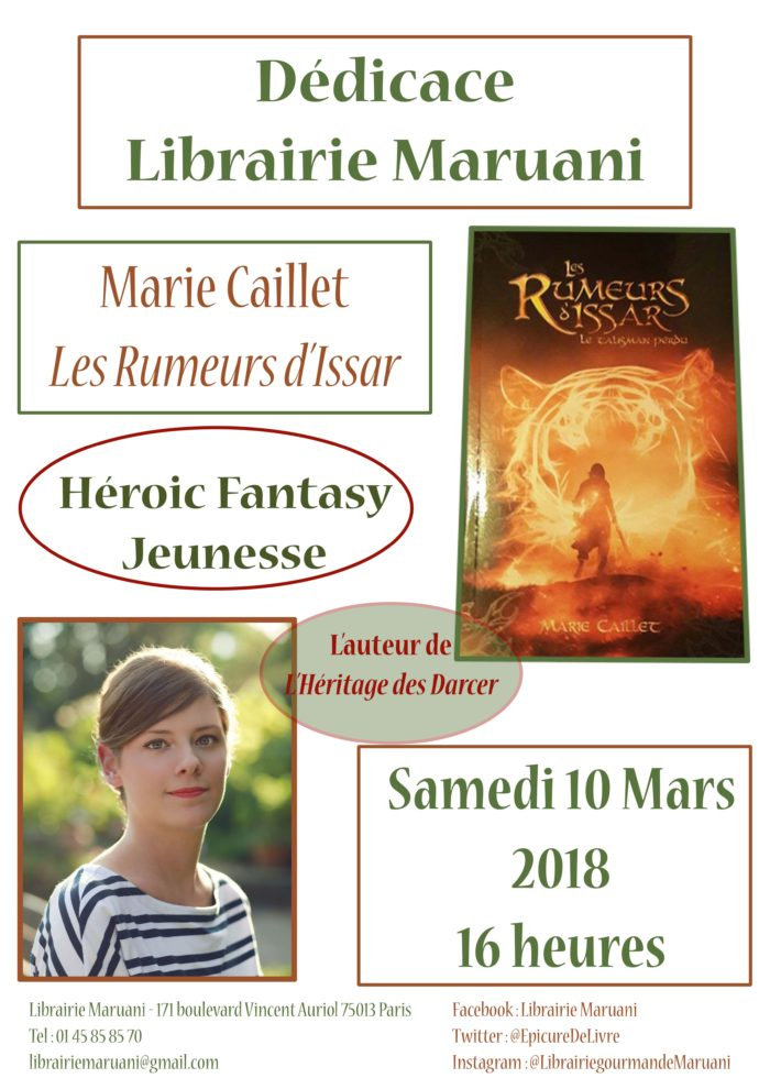 marie caillet dedicace