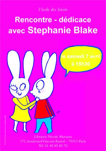 dédicace stephanie blake
