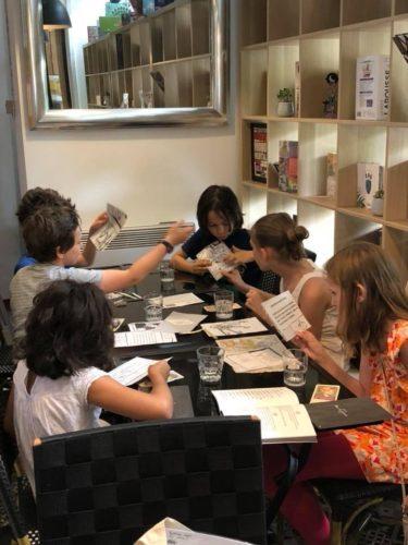 enfants atelier jeux enquete