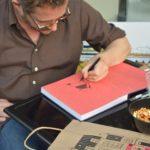 thomas baas illustration dédicace librairie maruani
