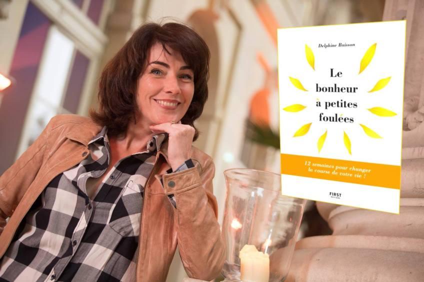 Le bonheur à petites foulees Delphine Buisson Librairie Maruani