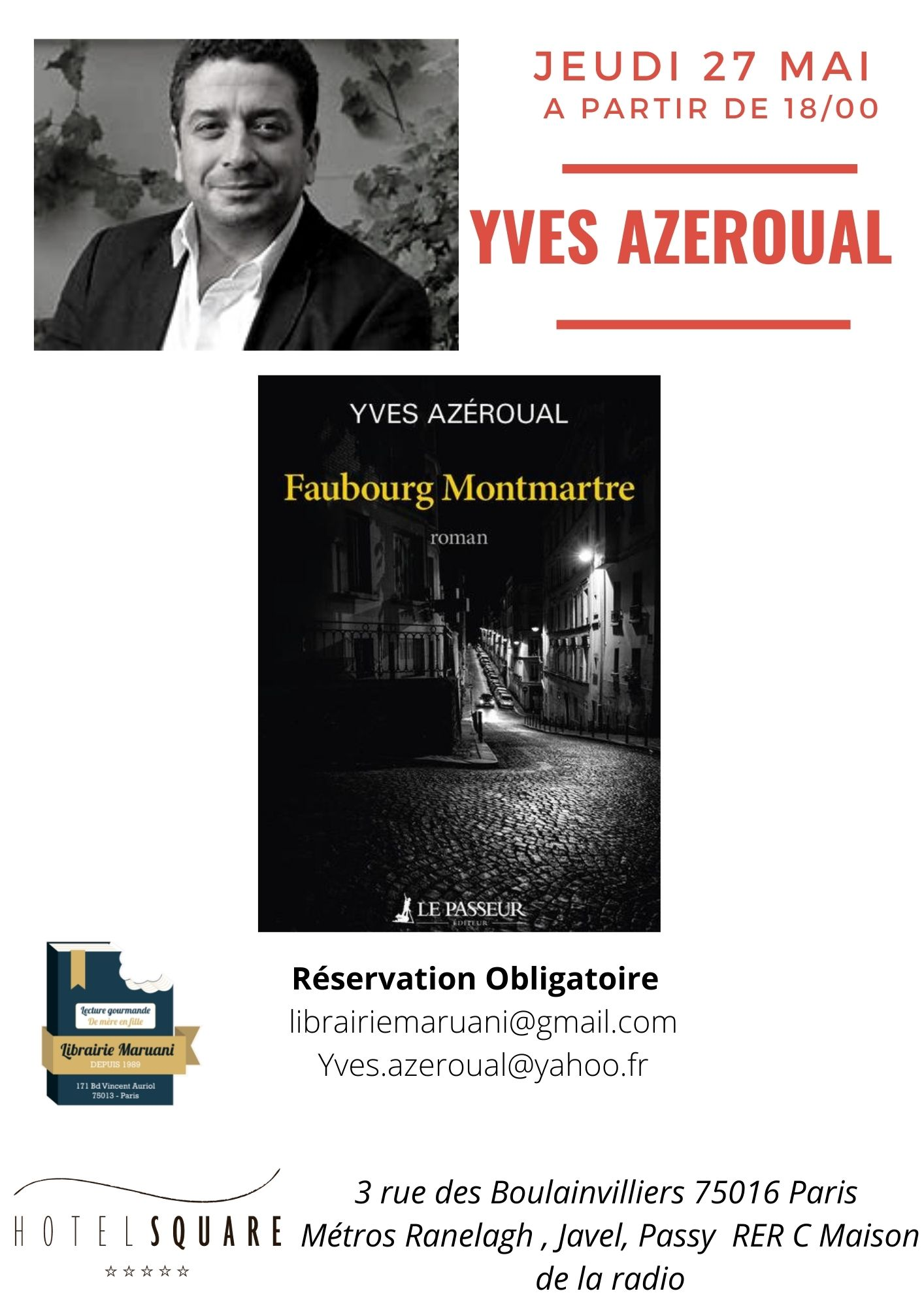 HORS LES MURS : Yves Azeroual