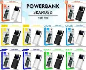 POWER BANK 20000 MAH PBB-403 LED
