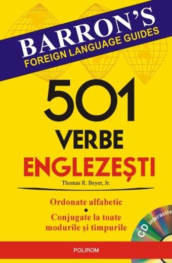 501 verbe englezești
