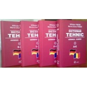 Dictionar tehnic German Roman 4 Vol