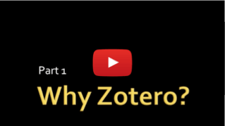 Zotero video