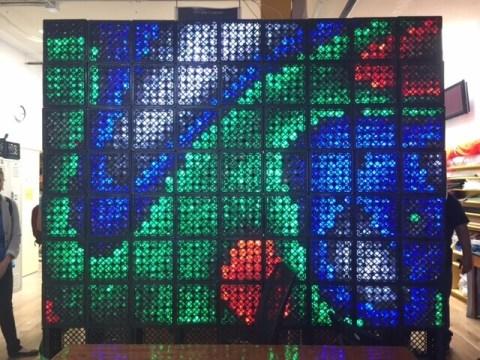 LED art project