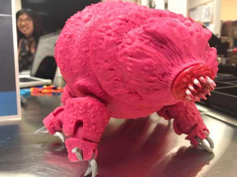 3D Printed Tardigrade