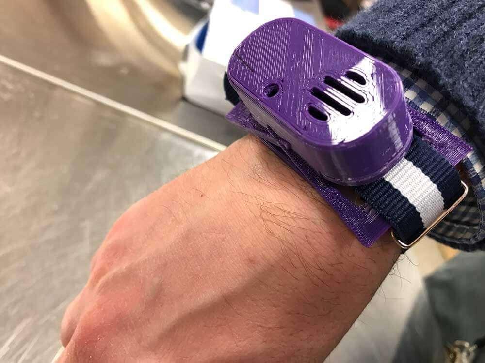 3D printed wrist attachment