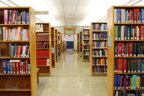 ZSFG Library stacks