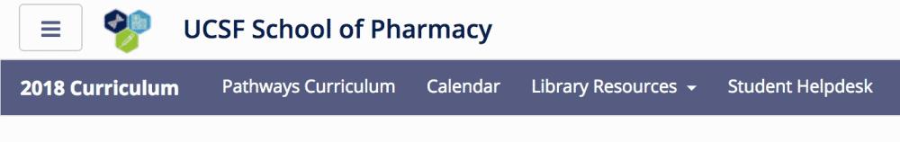 pharmacy menu